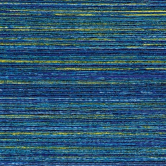 Elitis Panama VP 712 06.  Royal blue infused color horizontal linen textured wallpaper.  Click for details and checkout >>