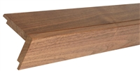Real Wood Peel and Stick Wall Plank Overlap Edge Trim.  Click for details and checkout >>