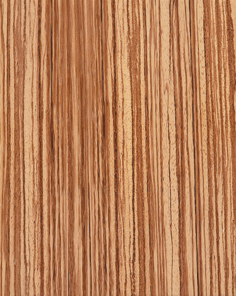Exotic Zebra Wood Veneer Wall Covering Wallpaper Perfect