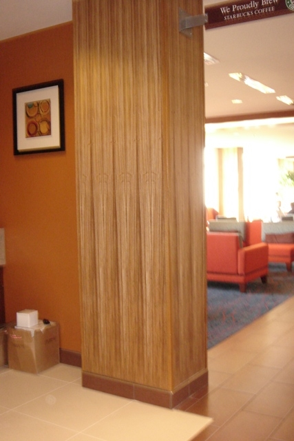Exotic Zebra Wood Veneer Wall Covering Wallpaper Perfect For A Accent  Wall, Kitchen Or Bathroom Free Shipping!