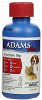 Adams plus Pyrethrin Dip - 4 fl oz
