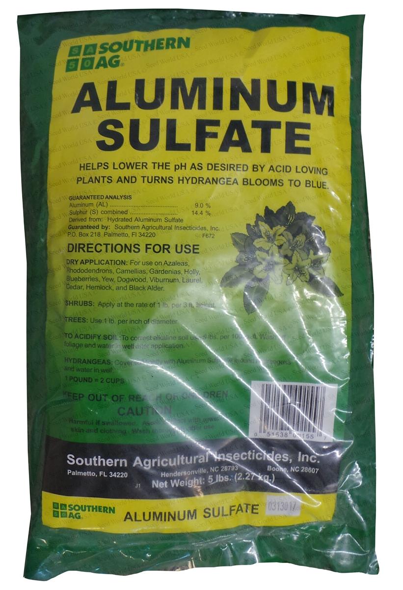 Captivating Aluminum Sulfate   5 Lbs.