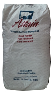 Attain Tetraploid Ryegrass Seed - 50 Lbs.