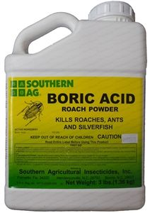 Boric Acid Roach Powder - 3 Lbs.