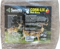 SWEETLIX Corn-Lix Deer Block (Apple Flavored) - 25 Lbs.