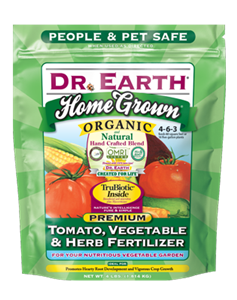 Dr Earth Home Grown Tomato Vegetable Herb Fertilizer - 4 lbs