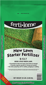 Ferti-Lome 9-13-7 New Lawn Starter Fertilizer - 20 lbs