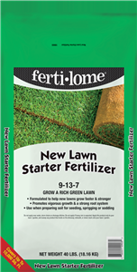 Ferti-Lome 9-13-7 New Lawn Starter Fertilizer - 40 lbs