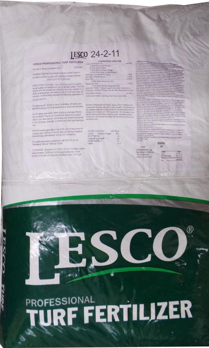 Lesco 50 Lb Spreader : Lesco  lbs