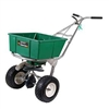 Lesco High Wheel Fertilizer Spreader with Manual Deflector - 80 Lbs. Hopper