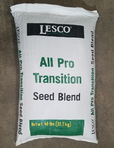 Lesco All Pro Transition Blend Grass Seed 50 Lbs