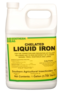 Chelated Liquid Iron - 1 Gallon