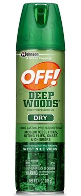 Off! Deep Woods Spray - 4 oz.