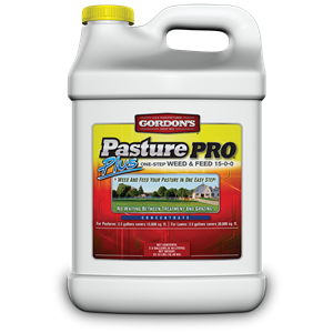 Pasture Pro Plus One-Step Weed & Feed 15-0-0 - 2.5 Gallon