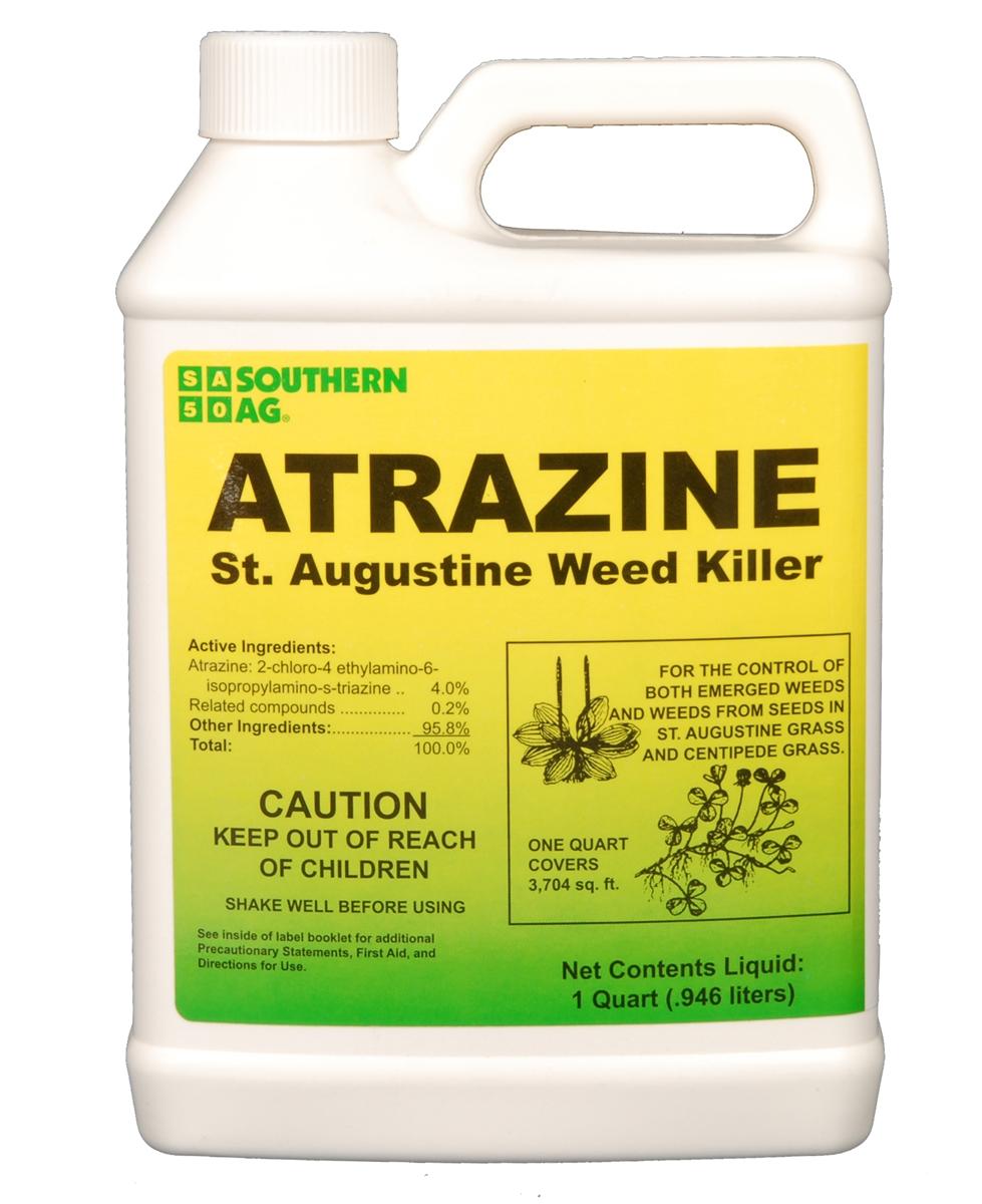 Atrazine Staugustine Weed Killer 1 Qt