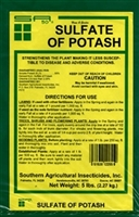 Sulfate of Potash 0-0-50 Fertilizer - 1 Lb.