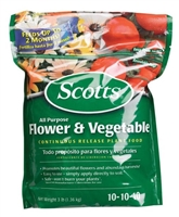 Scotts All Purpose Flower & Vegetable Plant Food - 3 Lbs.