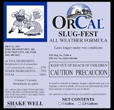 Slug-Fest All Weather Molluscicide - 1 Gallon
