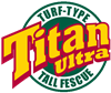 Titan ULTRA Tall Fescue Grass Seed (Certified) - 10 Lbs.