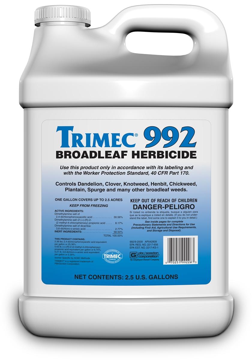 Trimec 992 Broadleaf Herbicide 2 5 Gal