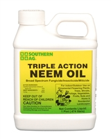 Triple Action Neem Oil - 1 Pint.