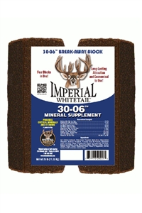Imperial Whitetail 30-06 Mineral Block - 25 Lbs.