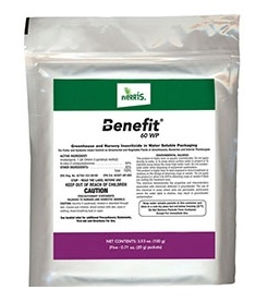 Benefit 60 WP Insecticide - 5 x 20 Gram Packets