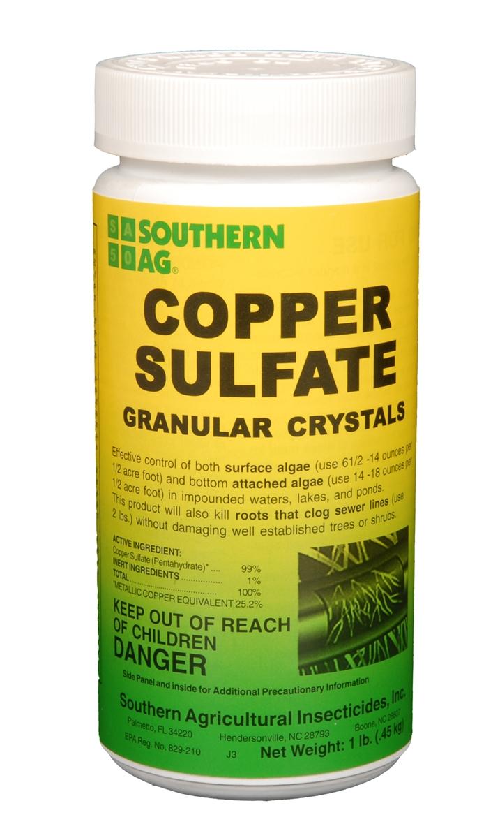 Copper Sulfate Granular Crystals - 1 Lb