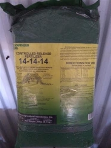 Controlled Release 14-14-14 Fertilizer - 20 Lbs.