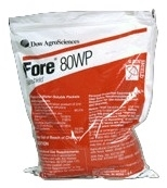 Fore 80WP Fungicide - 4 x 1.5 Lb. Packets