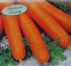 Carrot Nantes Coreless Seed Heirloom - 1 Packet