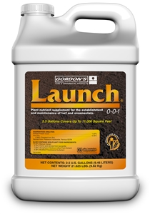 Launch Plant Nutrient Supplement - 2.5 Gallons