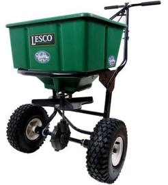 Lesco Push Spreader - 50 Lbs