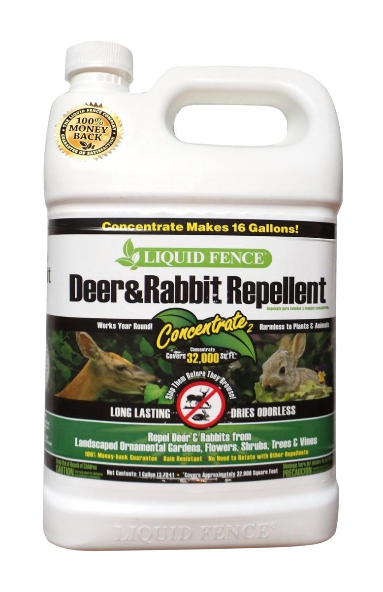 Liquid Fence Deer Rabbit Repellent 1 Gallon