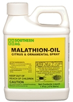 Malathion Oil Citrus & Ornamental Spray - 1 Pint.