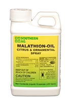 Malathion Oil Citrus & Ornamental Spray - 8 oz.