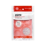 ZOTS SINGLES -LARGE CRAFTS CLEAR ADHESIVE DOTS - 125/PK BY THERM-O-WEB