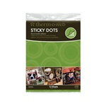 STICKY DOTS - DIE-CUT TRANSFER ADHESIVE - 12 SHEETS BY THERM-O-WEB