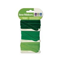 Sew Ribbon Green Ribbon