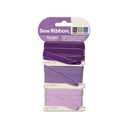 Sew Ribbon Purple  Ribbon