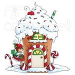 Stamping Bella Teeny Tiny Townie Gingerbread House EB750