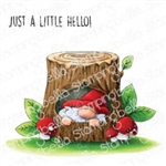 Stamping Bella Gnome in a Tree EB940