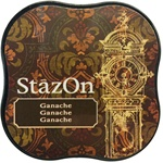 STAZON MIDI INK PAD - GANACHE - BY TSUKINEKO