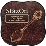 STAZON MIDI INK PAD - SPICED CHAI - BY TSUKINEKO