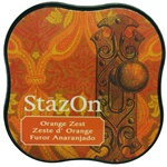 STAZON MIDI INK PAD - ORANGE ZEST - BY TSUKINEKO