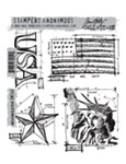 AMERICANA BLUEPRINT CLINGS BY TIM HOLTZ-STAMPERS ANONYMOUS CMS145