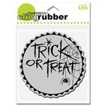 TREAT TOPPER FOAM MOUNTED CLING BY STAMPENDOUS GREAT FOR HALLOWEEN