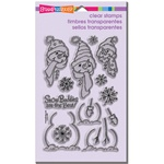 BUILD A SNOWMAN CLEAR STAMP SET BY STAMPENDOUS