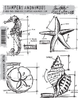 Nautical blueprint cms 194 stampers anonymous foam mounted cling set nautical blueprint cms 194 stampers anonymous foam mounted cling set by tim holtz malvernweather Gallery
