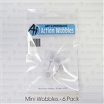 ART IMPRESSIONS MINI ACTION WOBBLE 6 PACK 4775